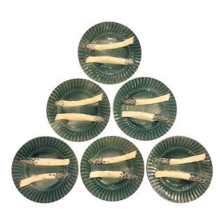 Creil & Montereau Asparagus Plates - Set of 6