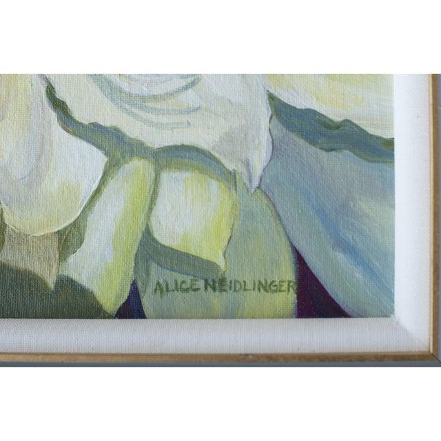 Image of Alice Neidlinger 'White Amryllis' Painting