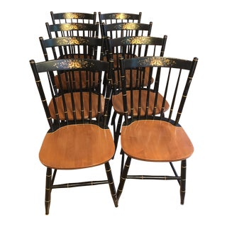 Hitchcock Dining Chairs - Set of 8