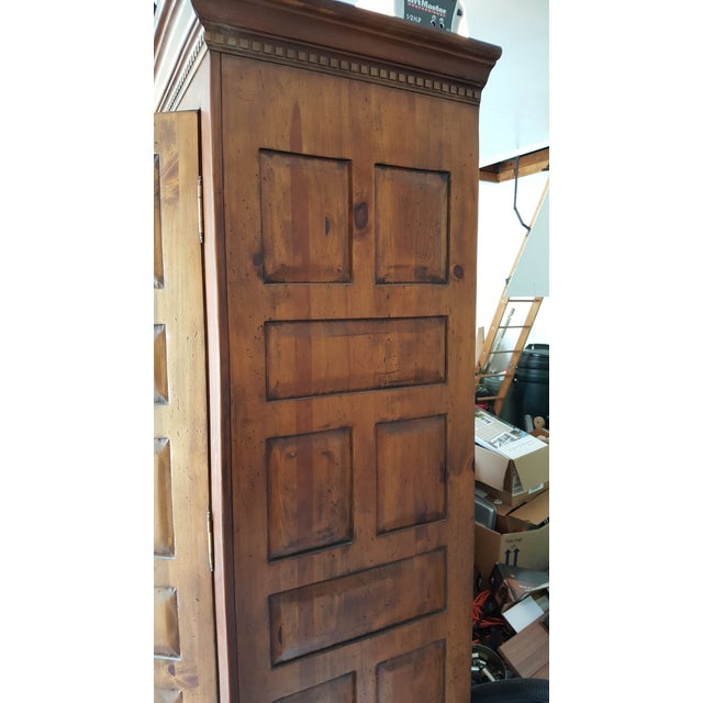 Image of Habersham Plantation Armoire Cabinet