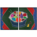"""Image of """"Iced Fruit"""" Diptych"""