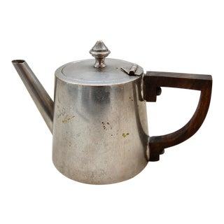 French Naval Medical Art Deco Mini Tea Pot & Diffuser