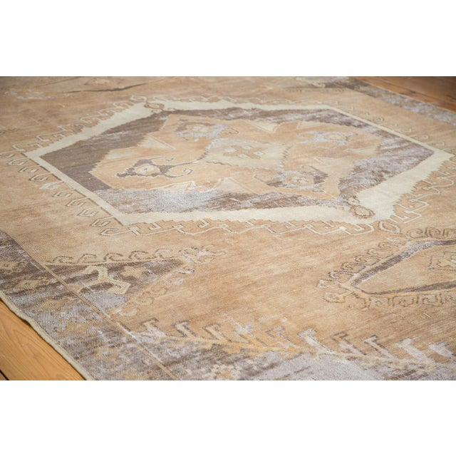 "Distressed Oushak Carpet - 7'10"" X 11' - Image 3 of 9"