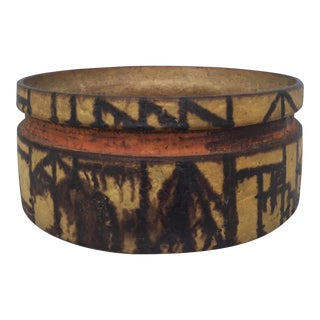 Marcel Fantoni Ceramic Fruit Bowl