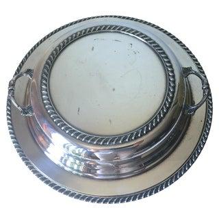 Vintage Silver 3-Piece Covered Server, Hallmarks