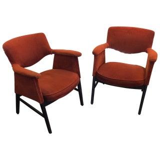 Mid-Century Danish Modern Armchairs - A Pair