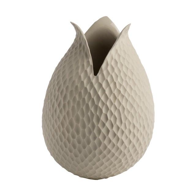 Mid-Century German Ceramic Tulip Vase - Image 1 of 3