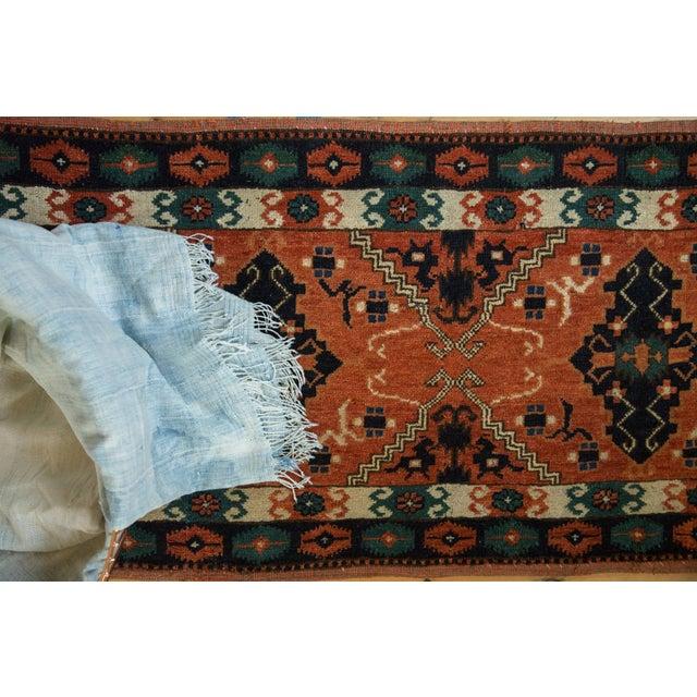 "Image of Vintage Afghan Tent Cover Rug Runner - 1'11"" x 5'8"""