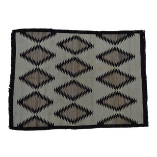 "Native American Navajo Indian Wool Rug - 36"" x 50"""
