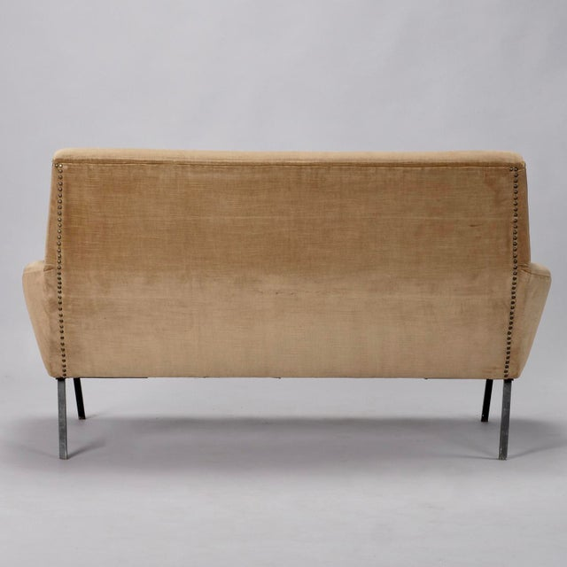 Mid-Century Italian Settee in the style of Marco Zanuso - Image 5 of 8