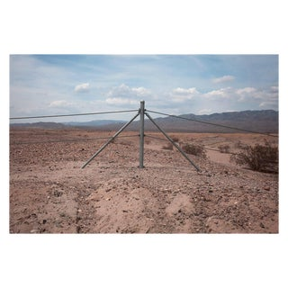 "Kipp Wettstein Field Notes ""Fence, Near Salton Sea,"" 2014"