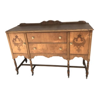 Antique Queen Anne Buffet