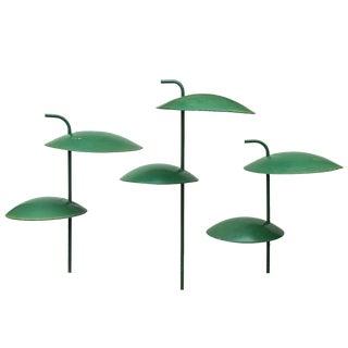 Kurt Versen Garden Saucer Lamps