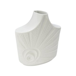 Vintage Mid-Century Bisque Porcelain Vase