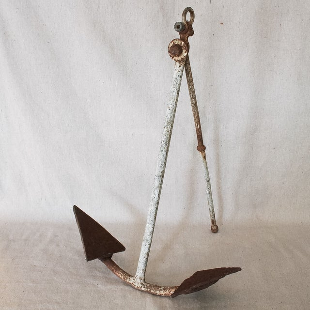 Antique Nautical Anchor - Image 2 of 8