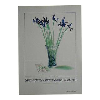 Vintage Poster Lithograph - David Hockney