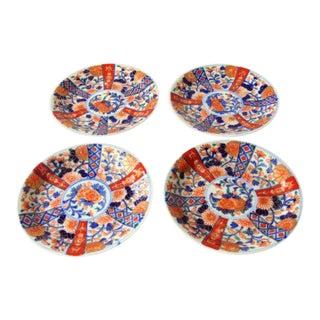 Antique Japanese Imari Plates - Set of 4