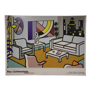 Roy Lichtenstein Modern Poster