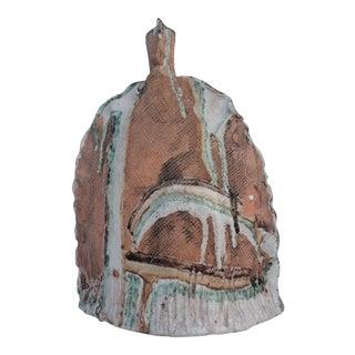 Brutalist Handmade Crude & Glaze Studio Pottery Vase