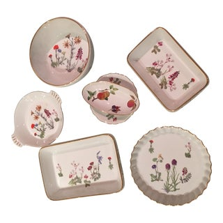 """French """"Le Faune"""" Vintage Cookware - Set of 6"""
