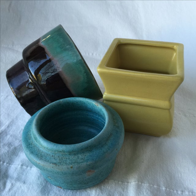 Pottery Planters - Set of 3 - Image 11 of 11