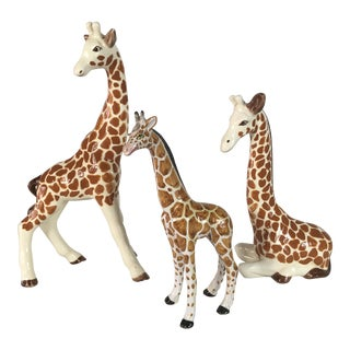 1960s Italian Giraffes - Set of 3