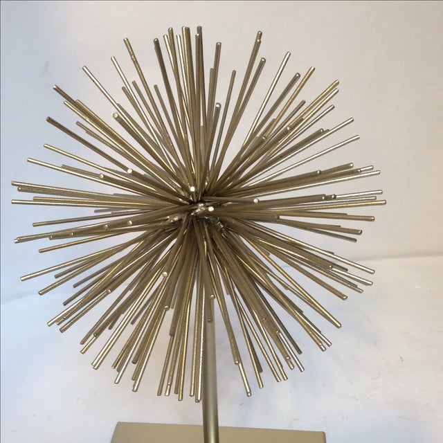 Gold Star Burst on Stand - Image 5 of 6