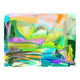 Aspen Heights Signed Framed Digital Drawing Print by Trixie Pitts