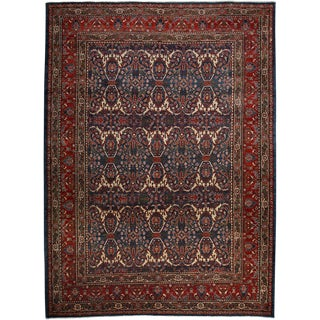 "Ziegler, Hand Knotted Area Rug - 8' 9"" X 11' 10"""