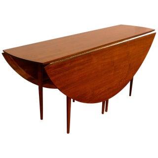 Dunbar Style Walnut Drop-Leaf Table