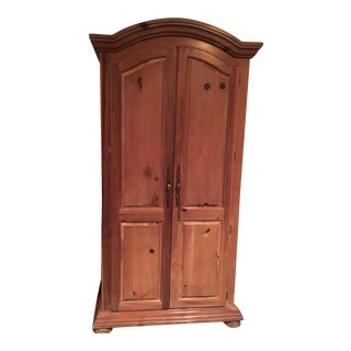 Vintage Traditional Wooden Armoire