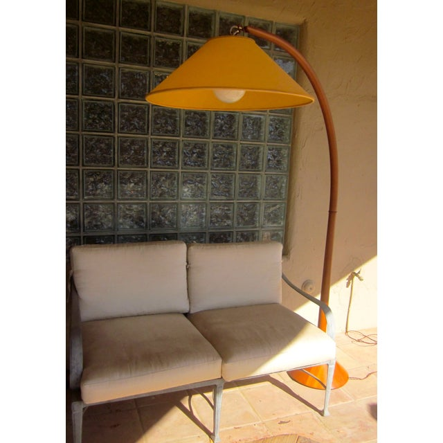 Roche Bobois Danish Modern Arched Floor Lamp - Image 7 of 9