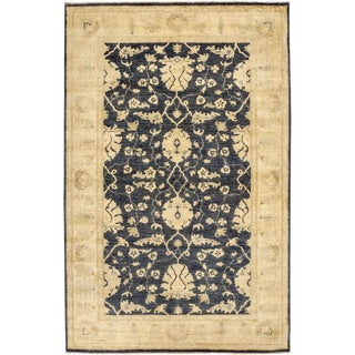 "Oushak Hand Knotted Area Rug - 5'0"" X 7'9"""