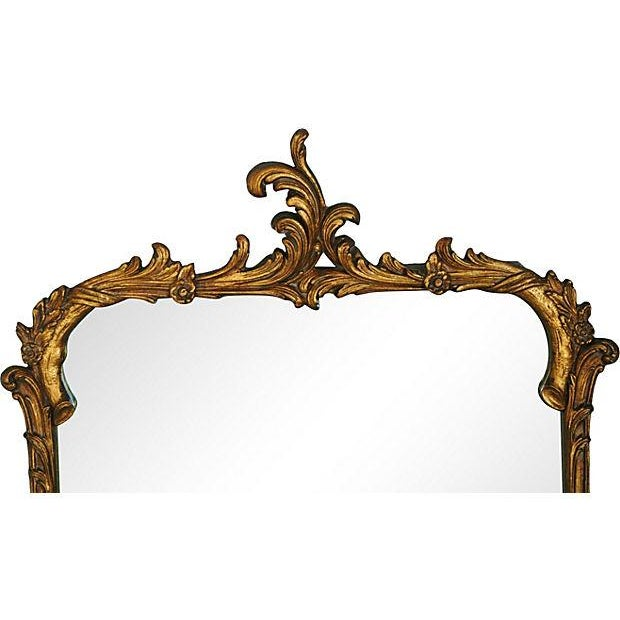 Antique French Gilt & Gesso Mirror - Image 2 of 7