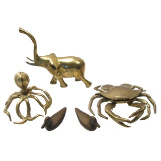 A Mid-Century Brass Menagerie, S/5