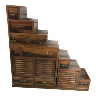 Reversible Tonsu Step Chest