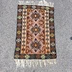 Image of Vintage Hand Knotted Turkish Kilim - 2′8″ × 4′1″