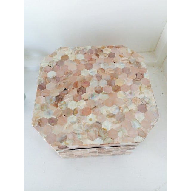 Mother of Pearl Tiled Box - Image 4 of 8