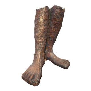 Gilded Feet