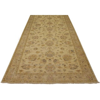 Oushak Style Gallery Size Wool Rug - 5′10″ × 17′10