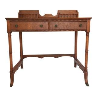Vintage Petite Author's Desk
