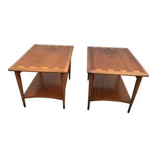 Mid-Century Lane Acclaim End Tables - a Pair