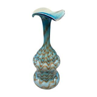 Mid-Century Italian Blue Vase