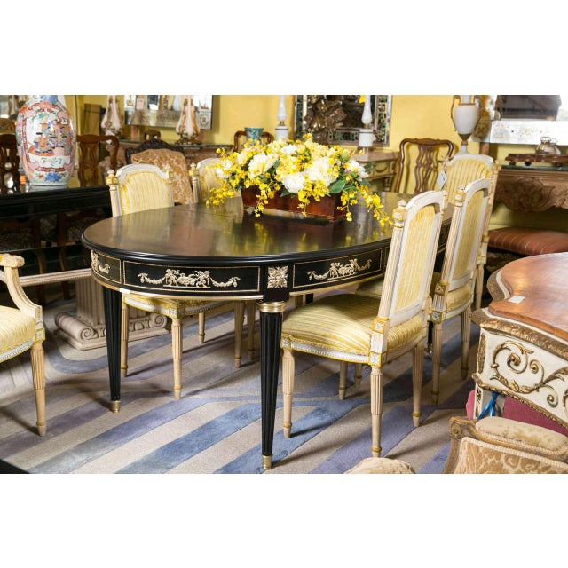 Maison Jansen Bronze-Mounted Dining Table - Image 3 of 8