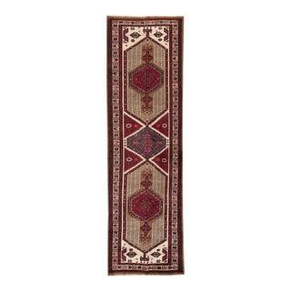 "Apadana - Vintage Persian Rug, 3'6"" x 11'9"""