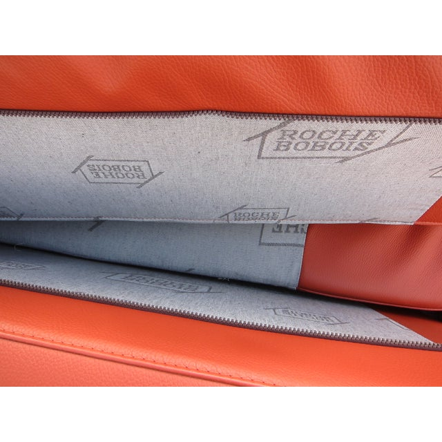 Roche Bobois Sunset Orange Sectional Sofa - Image 7 of 9