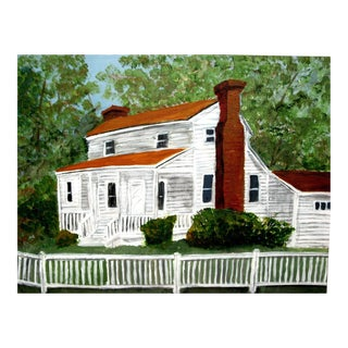 """Smith Family Homestead"" Acylic Painting on Canvas"
