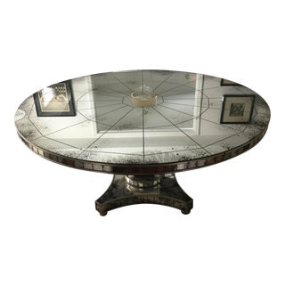 "Mirrored ""Reflections"" Dining Table"