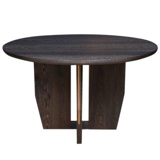 Stillmade Fumed Oak Dining Table