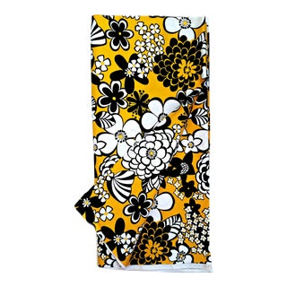 Alexander Henry Fabric Yellow Floral Pattern - 5 Yards